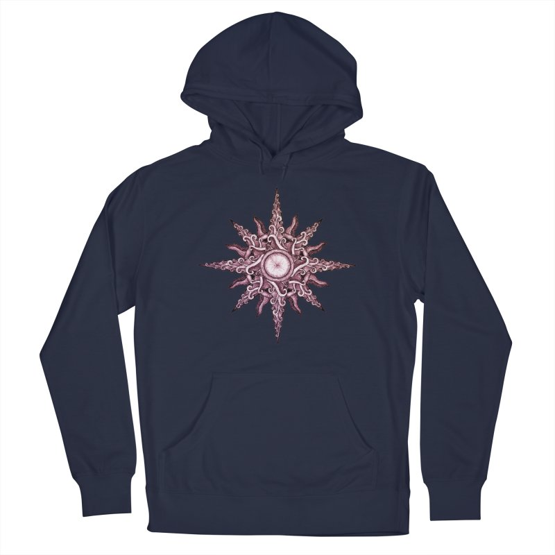 Psychedelic windrose Men's Pullover Hoody by Beatrizxe