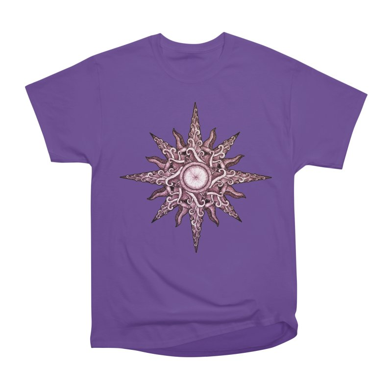 Psychedelic windrose Women's Classic Unisex T-Shirt by Beatrizxe