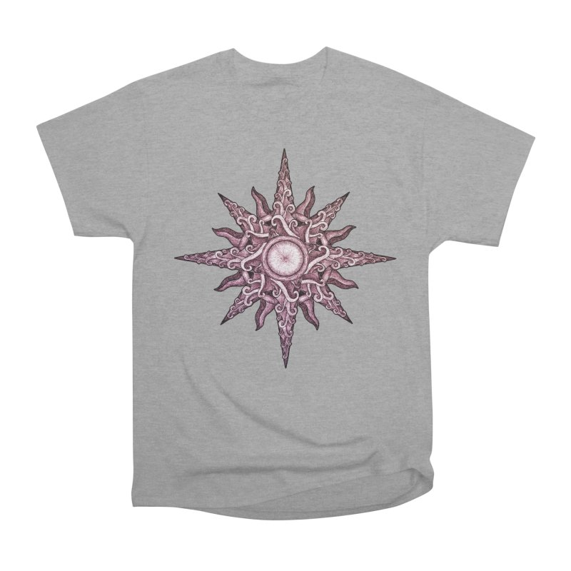 Psychedelic windrose Men's Classic T-Shirt by Beatrizxe