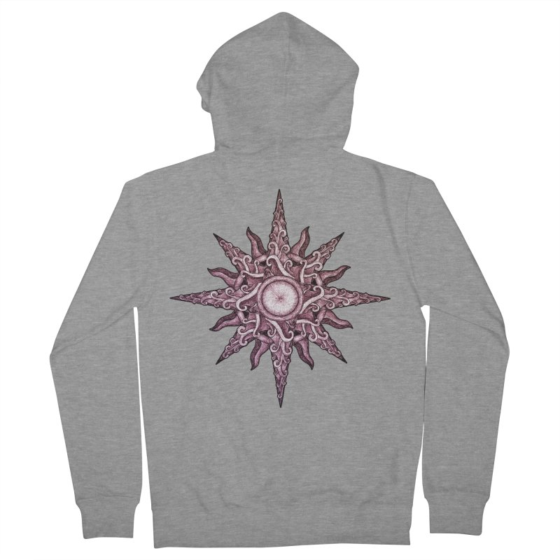 Psychedelic windrose Women's Zip-Up Hoody by Beatrizxe