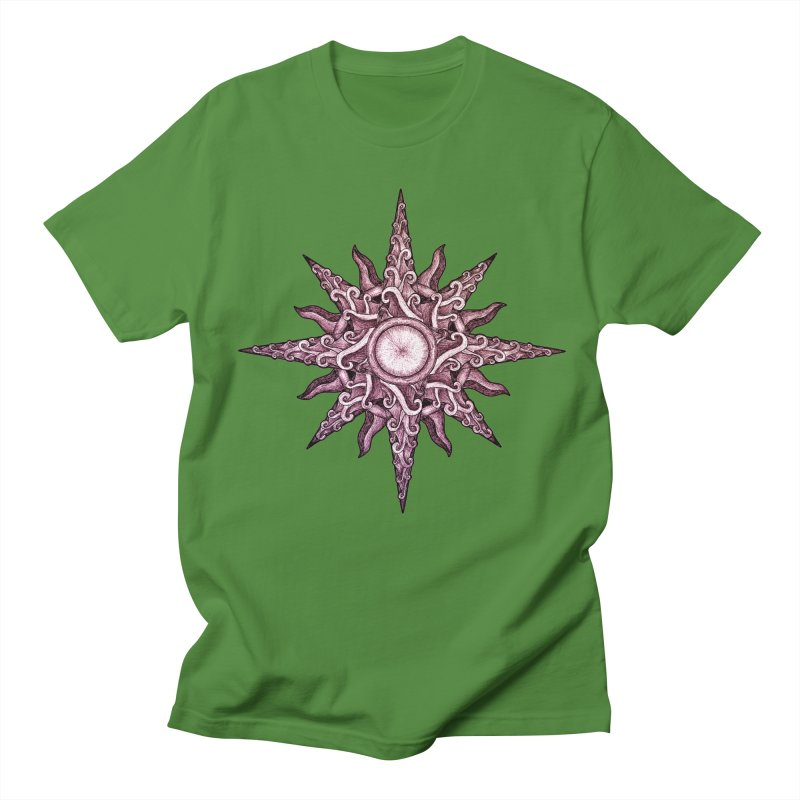 Psychedelic windrose Women's Regular Unisex T-Shirt by Beatrizxe
