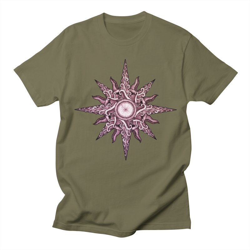 Psychedelic windrose Women's Unisex T-Shirt by Beatrizxe