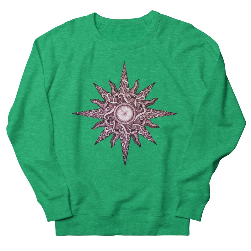 Psychedelic windrose Men's Sweatshirt by Beatrizxe