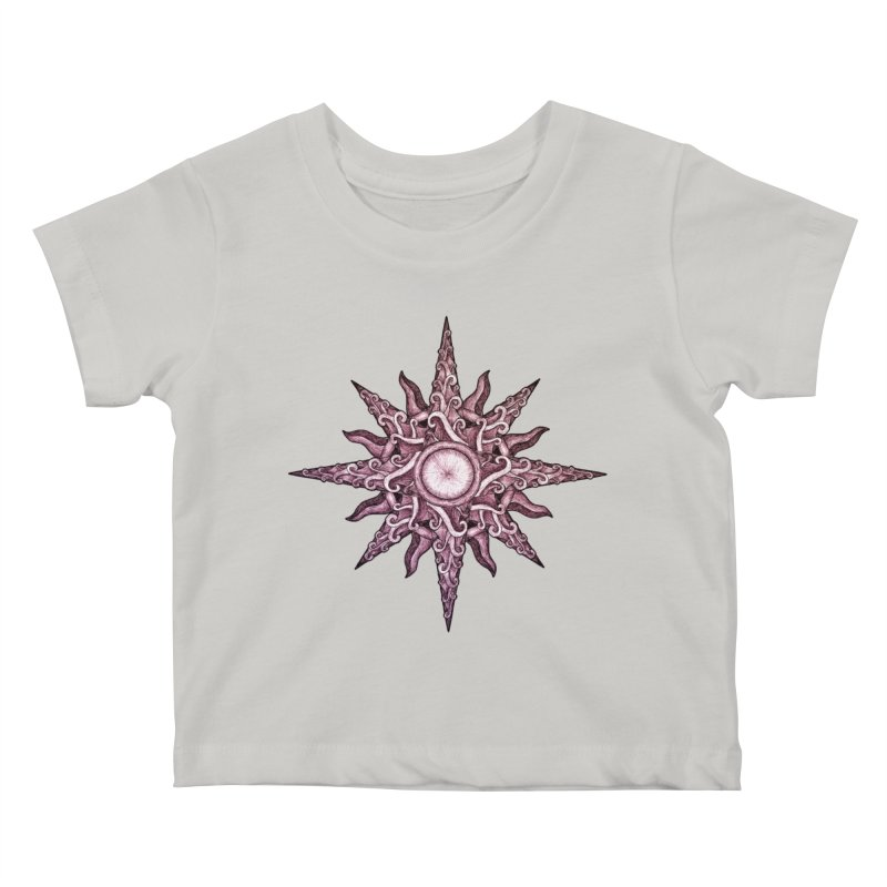 Psychedelic windrose Kids Baby T-Shirt by Beatrizxe