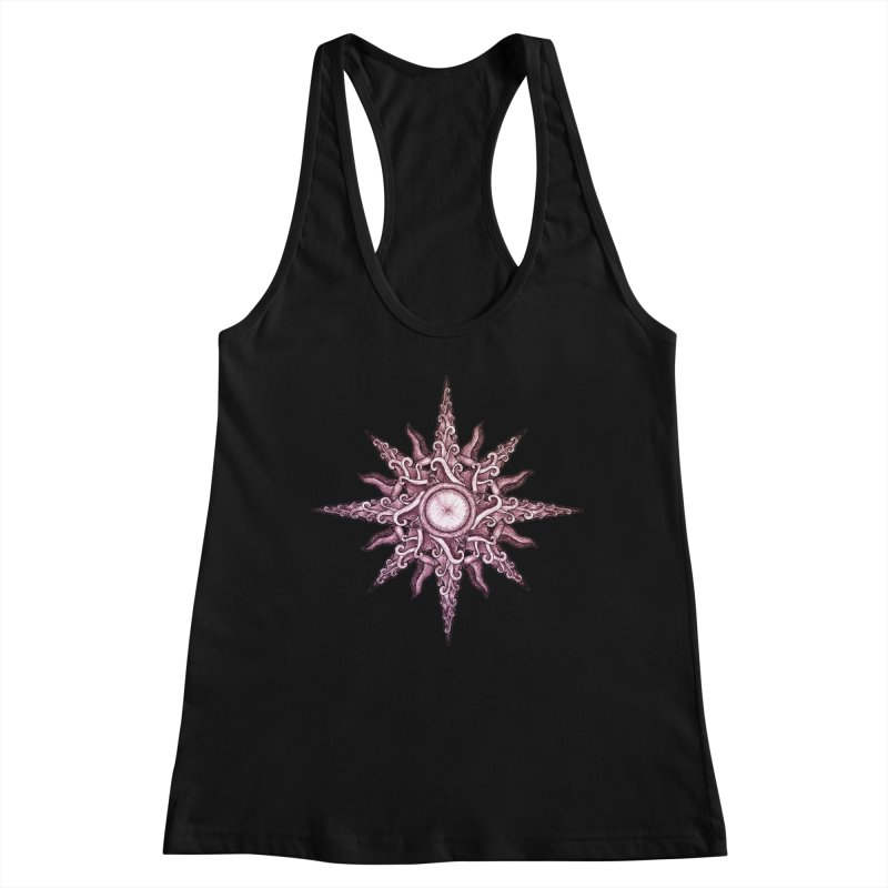 Psychedelic windrose Women's Tank by Beatrizxe