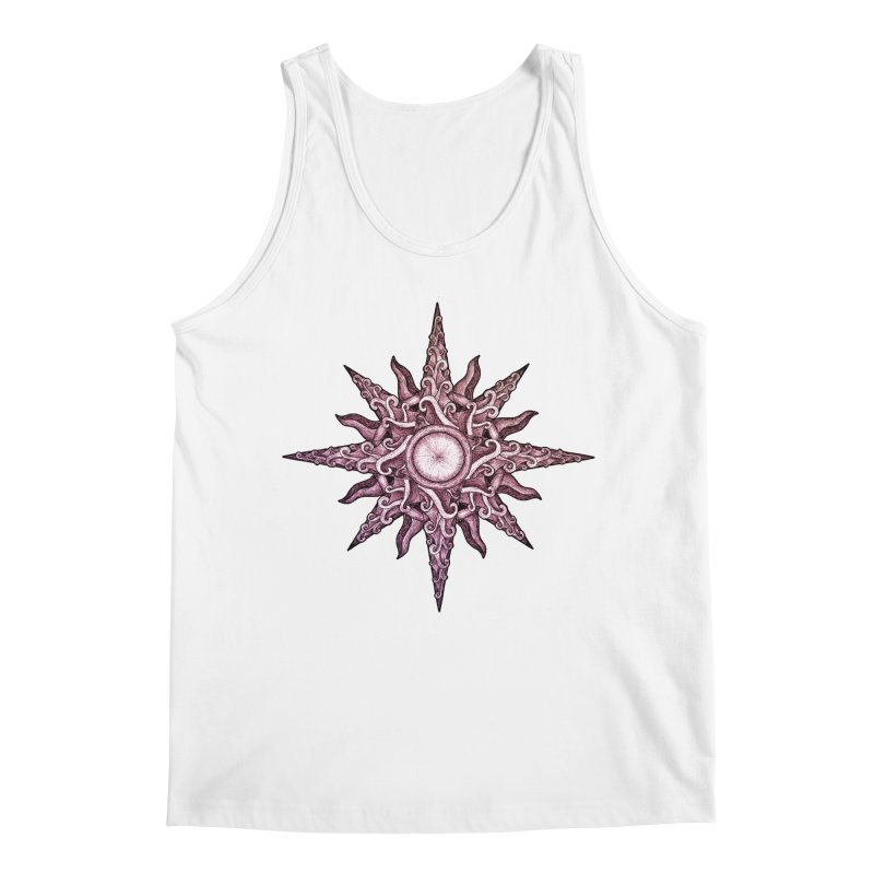 Psychedelic windrose Men's Regular Tank by Beatrizxe