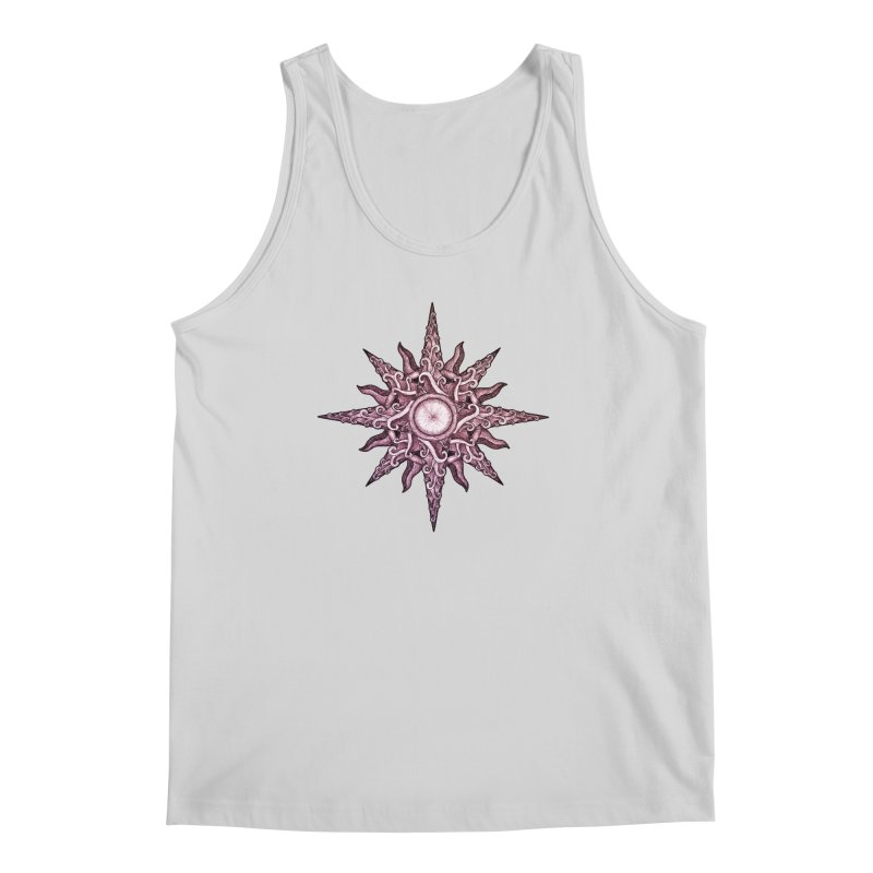 Psychedelic windrose Men's Tank by Beatrizxe
