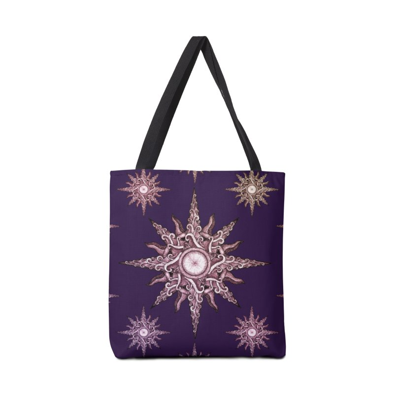Psychedelic windrose Accessories Bag by Beatrizxe