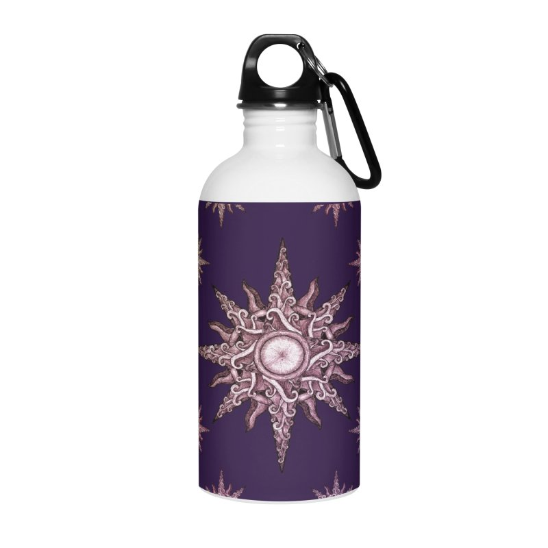 Psychedelic windrose Accessories Water Bottle by Beatrizxe