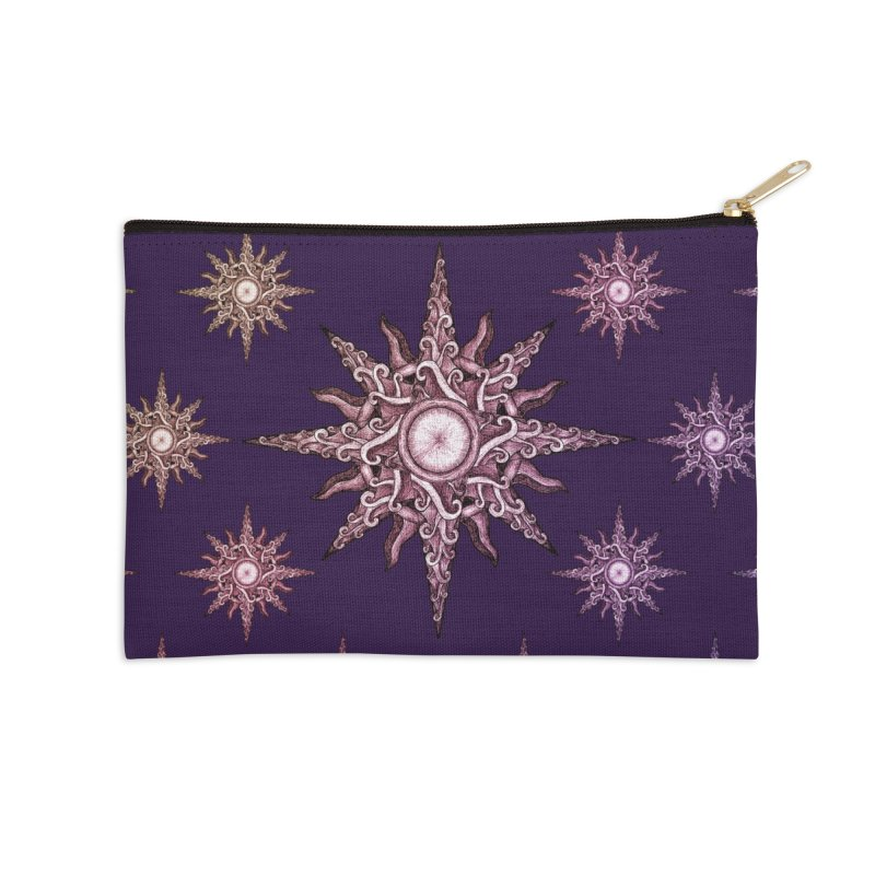 Psychedelic windrose Accessories Zip Pouch by Beatrizxe