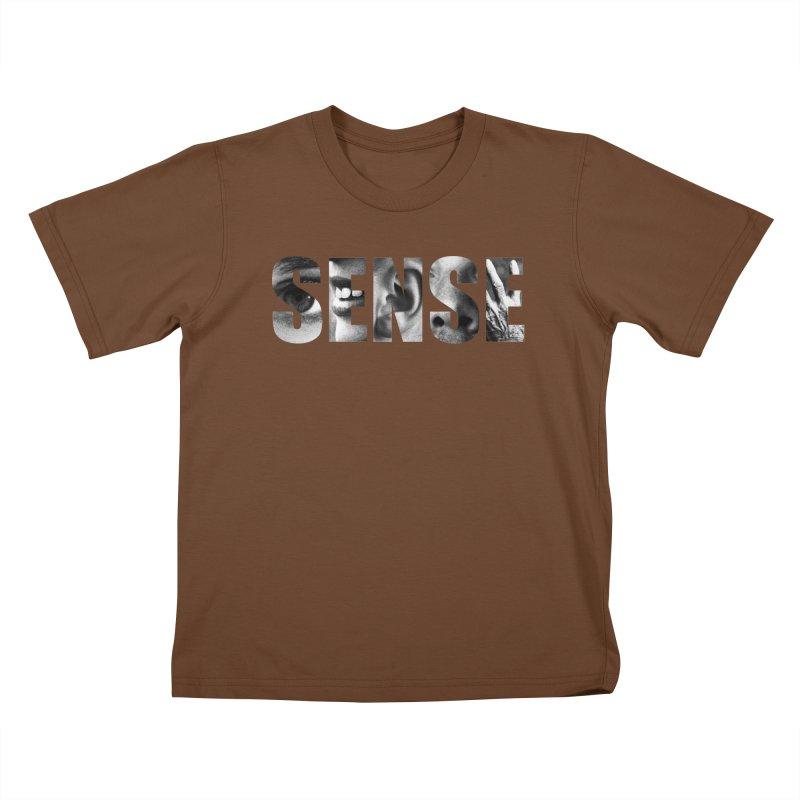 Sense (White background) Kids T-Shirt by Beatrizxe