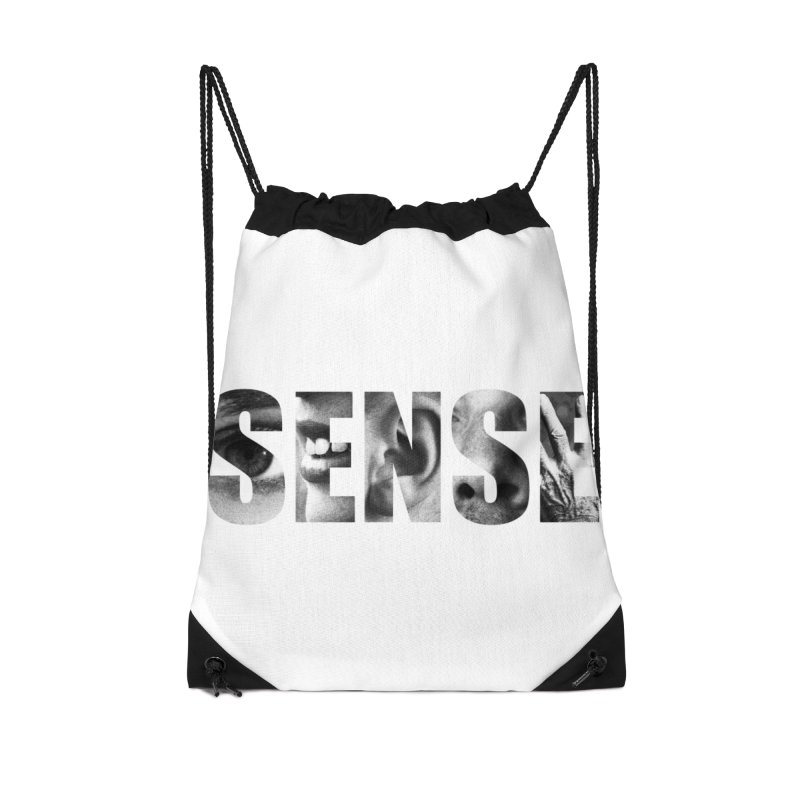 Sense (White background) Accessories Drawstring Bag Bag by Beatrizxe