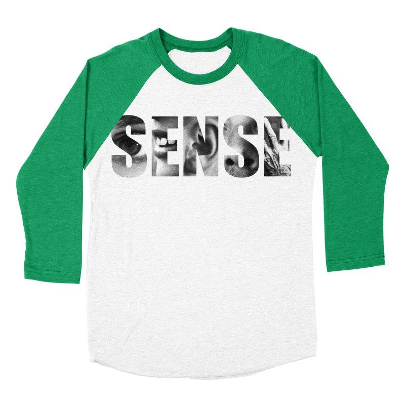 Sense (Black Background) Women's Baseball Triblend Longsleeve T-Shirt by Beatrizxe