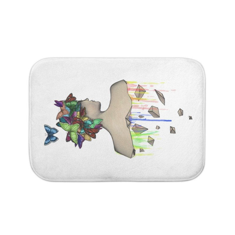 Metamorphosis Girl Home Bath Mat by Beatrizxe