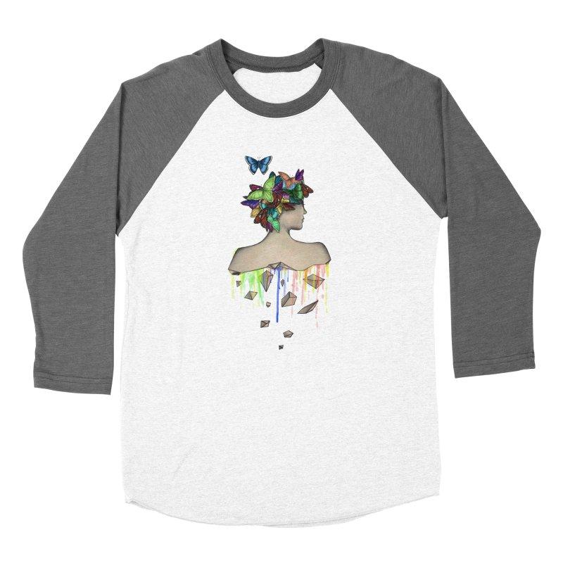 Metamorphosis Girl Men's Baseball Triblend Longsleeve T-Shirt by Beatrizxe