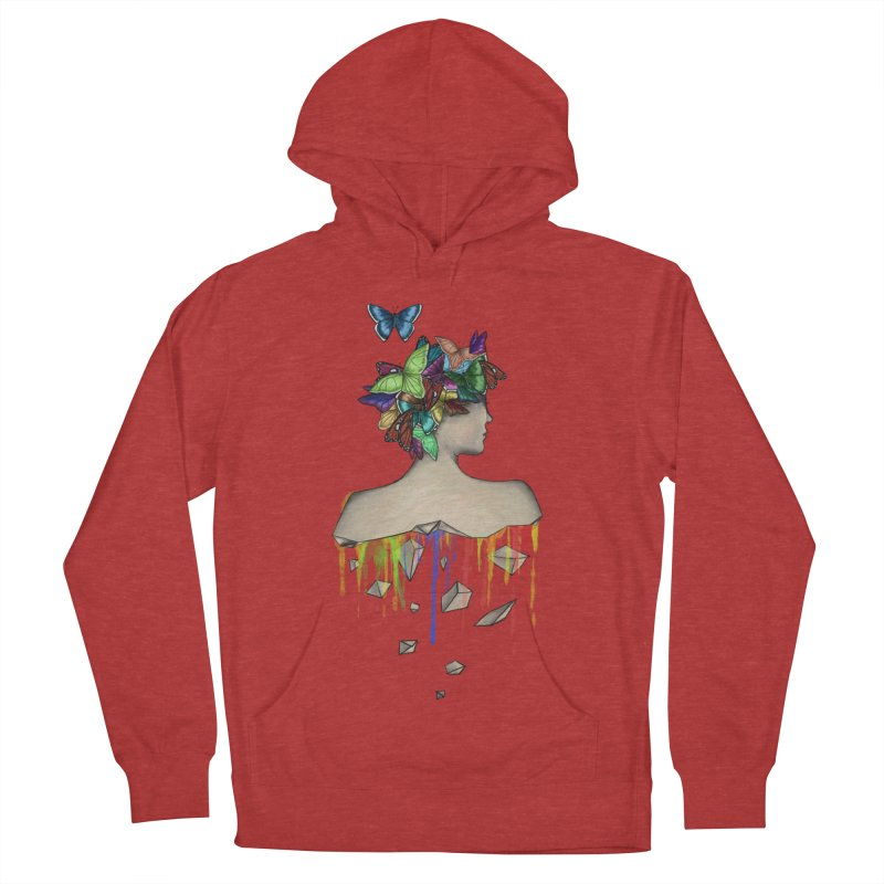 Metamorphosis Girl Women's French Terry Pullover Hoody by Beatrizxe
