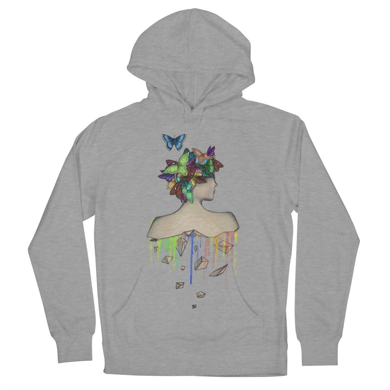 Metamorphosis Girl Men's French Terry Pullover Hoody by Beatrizxe