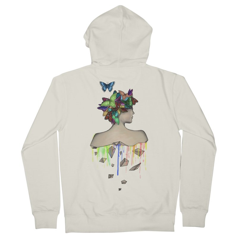 Metamorphosis Girl Men's Zip-Up Hoody by Beatrizxe