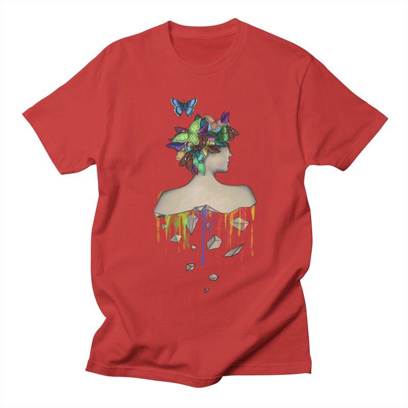 Metamorphosis Girl Men's Regular T-Shirt by Beatrizxe