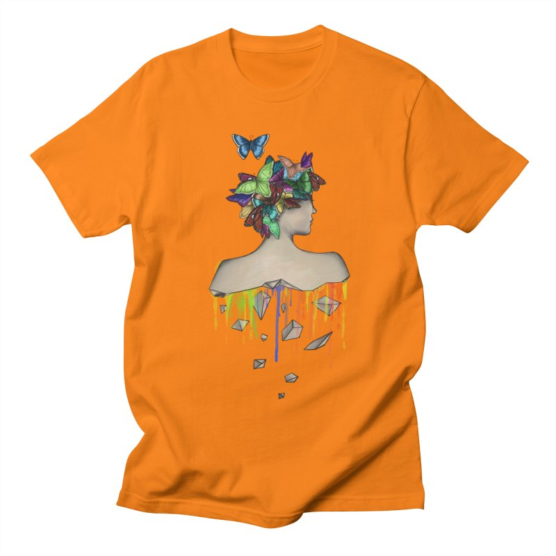Metamorphosis Girl Men's T-Shirt by Beatrizxe