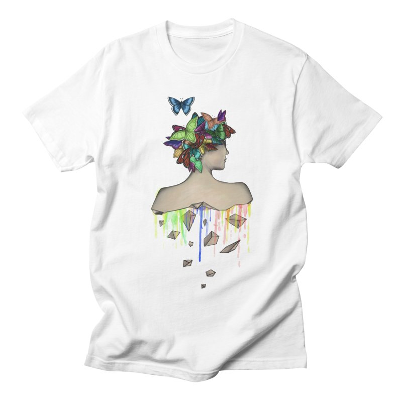 Metamorphosis Girl Men's Regular T-Shirt by Beatrizxe