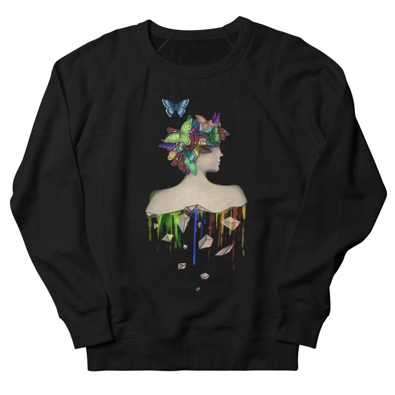 Metamorphosis Girl Women's French Terry Sweatshirt by Beatrizxe
