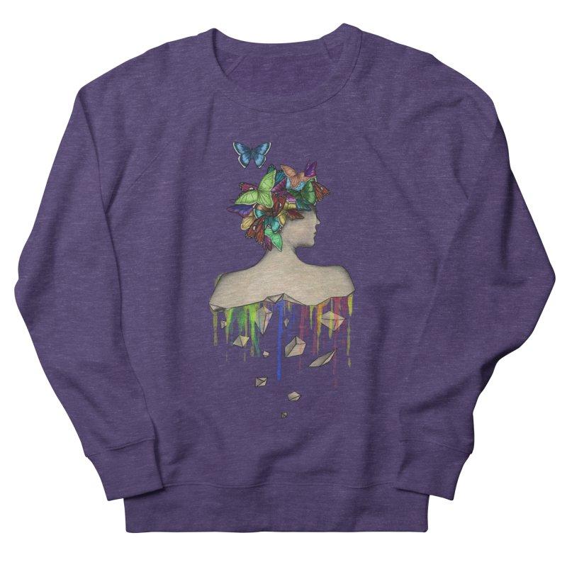 Metamorphosis Girl Men's French Terry Sweatshirt by Beatrizxe
