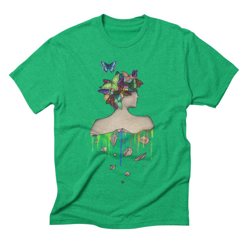 Metamorphosis Girl Men's Triblend T-Shirt by Beatrizxe
