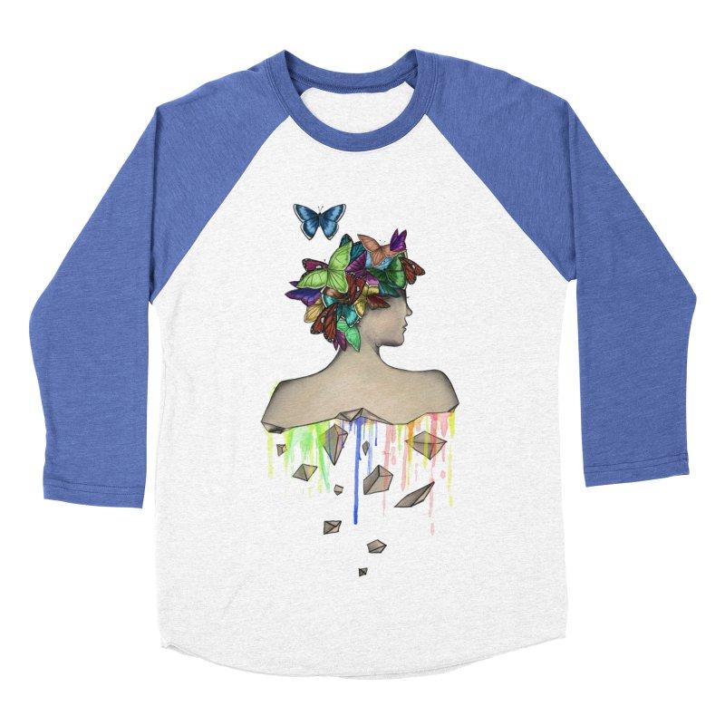 Metamorphosis Girl Men's Baseball Triblend T-Shirt by Beatrizxe