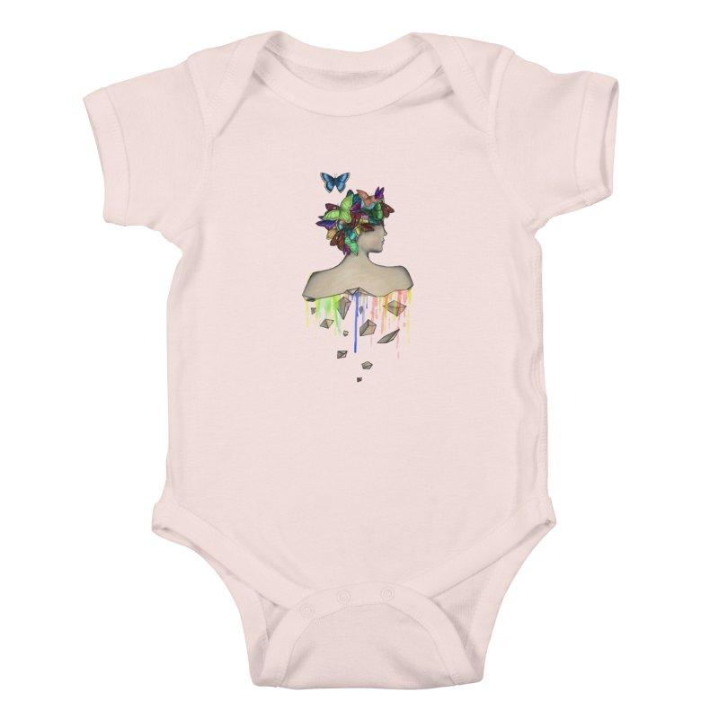 Metamorphosis Girl Kids Baby Bodysuit by Beatrizxe