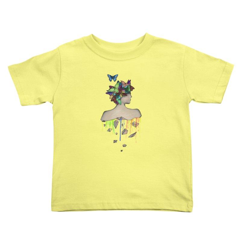 Metamorphosis Girl Kids Toddler T-Shirt by Beatrizxe