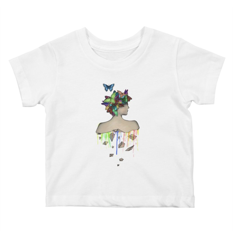 Metamorphosis Girl Kids Baby T-Shirt by Beatrizxe
