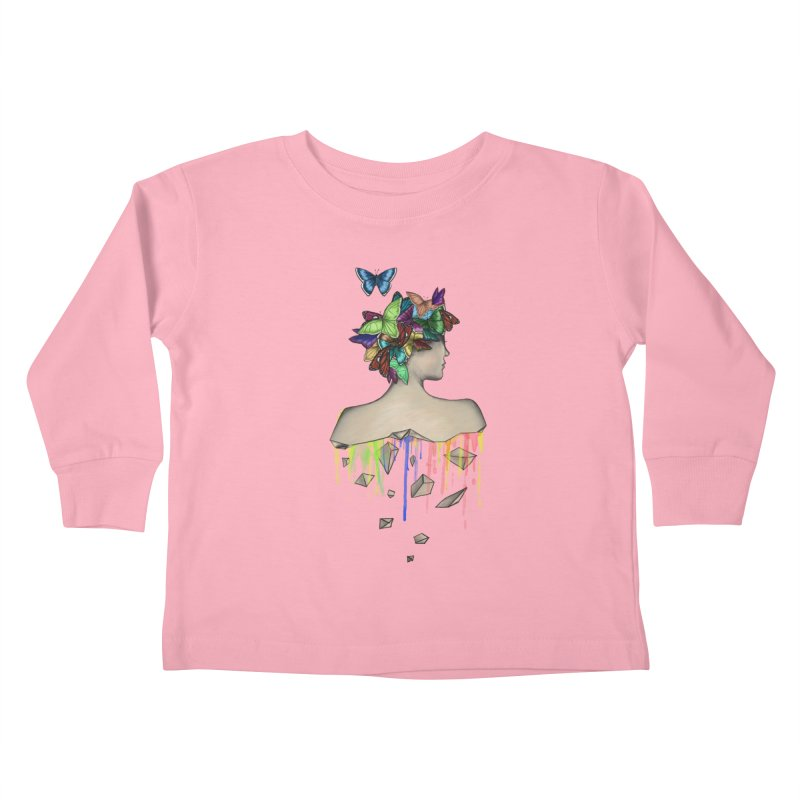 Metamorphosis Girl Kids Toddler Longsleeve T-Shirt by Beatrizxe