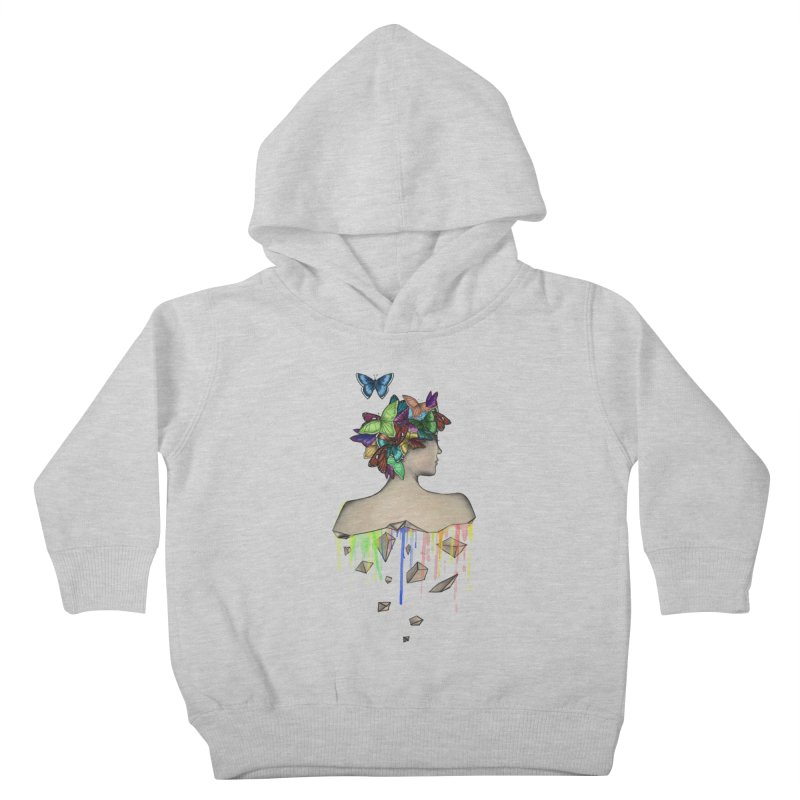 Metamorphosis Girl Kids Toddler Pullover Hoody by Beatrizxe