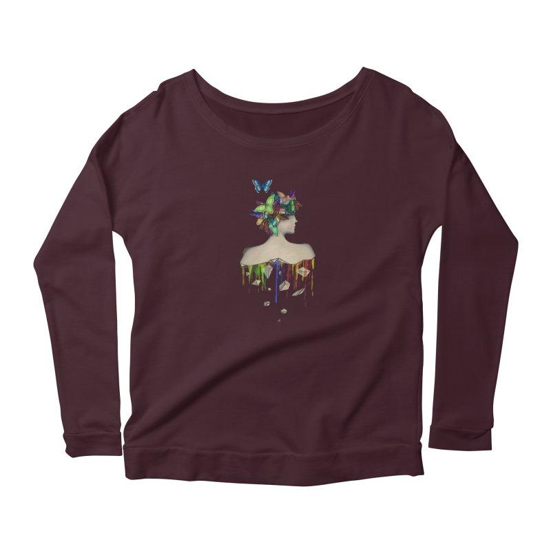 Metamorphosis Girl Women's Longsleeve T-Shirt by Beatrizxe