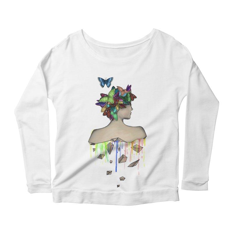 Metamorphosis Girl Women's Scoop Neck Longsleeve T-Shirt by Beatrizxe