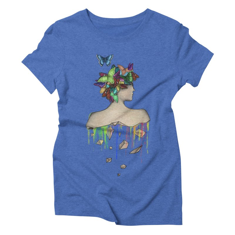 Metamorphosis Girl Women's Triblend T-Shirt by Beatrizxe