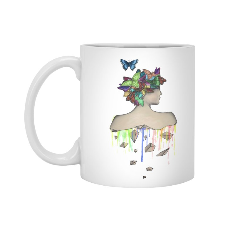 Metamorphosis Girl Accessories Standard Mug by Beatrizxe