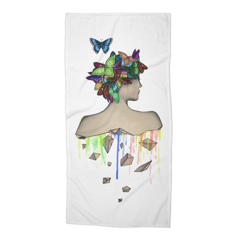 Metamorphosis Girl Accessories Beach Towel by Beatrizxe