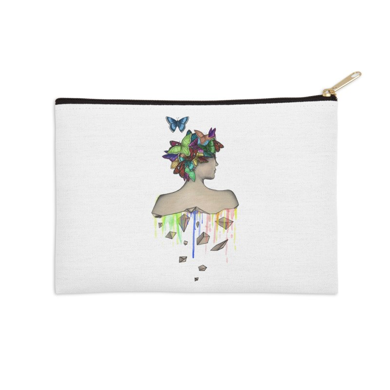 Metamorphosis Girl Accessories Zip Pouch by Beatrizxe