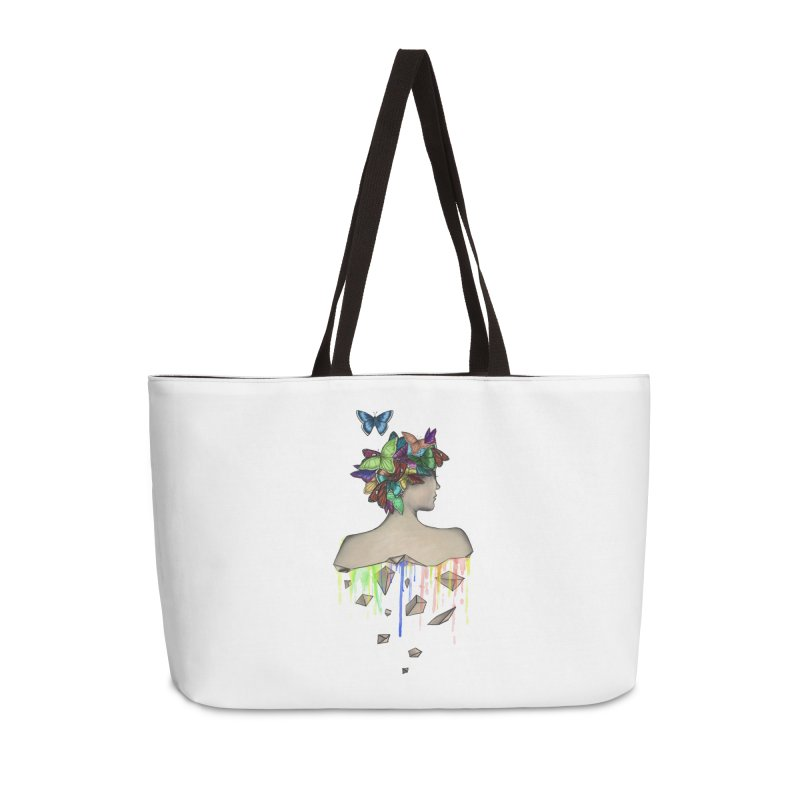 Metamorphosis Girl Accessories Weekender Bag Bag by Beatrizxe