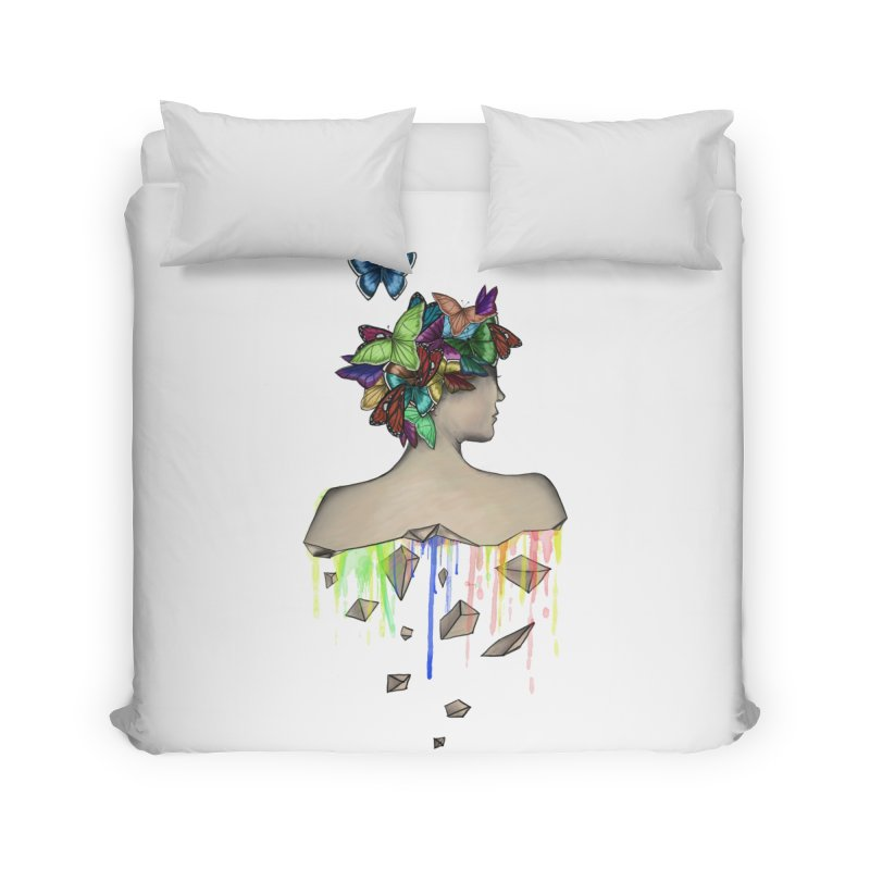 Metamorphosis Girl Home Duvet by Beatrizxe
