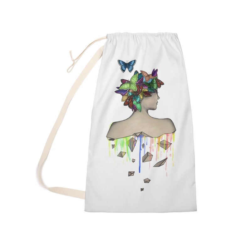 Metamorphosis Girl Accessories Laundry Bag Bag by Beatrizxe