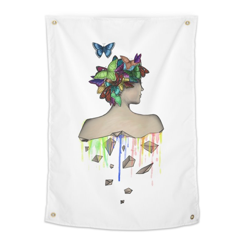 Metamorphosis Girl Home Tapestry by Beatrizxe