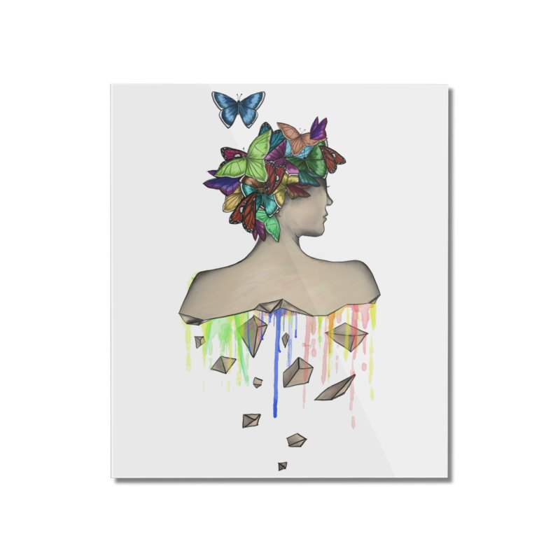 Metamorphosis Girl Home Mounted Acrylic Print by Beatrizxe