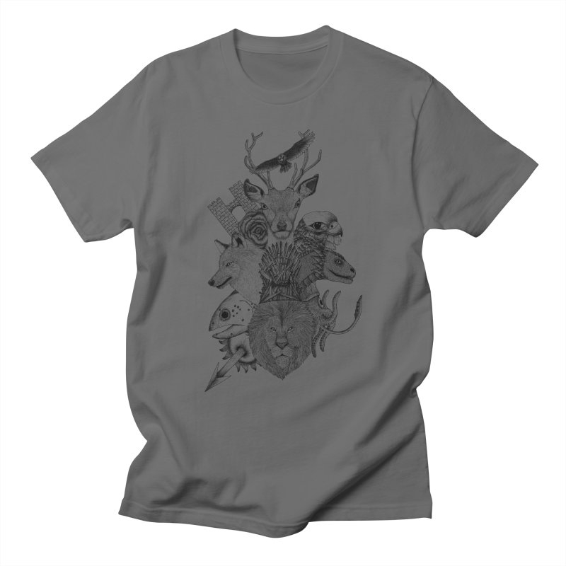 Game of Animals Men's T-Shirt by Beatrizxe