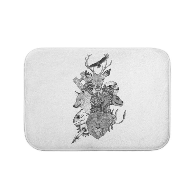 Game of Animals Home Bath Mat by Beatrizxe