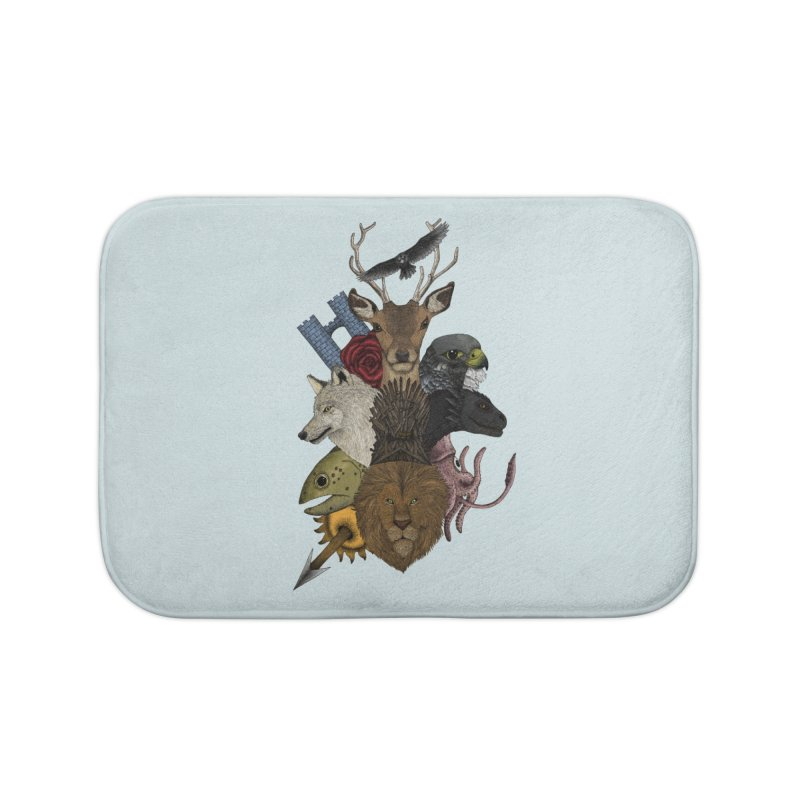 Game of animals. Color Version Home Bath Mat by Beatrizxe