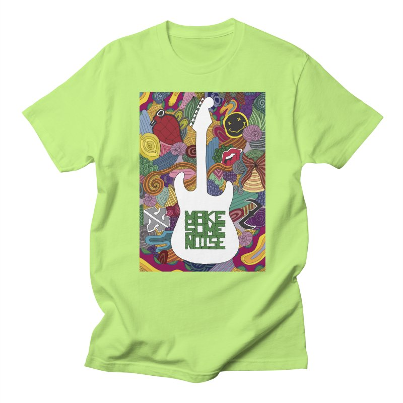Make Some Noise Men's T-Shirt by Beatrizxe