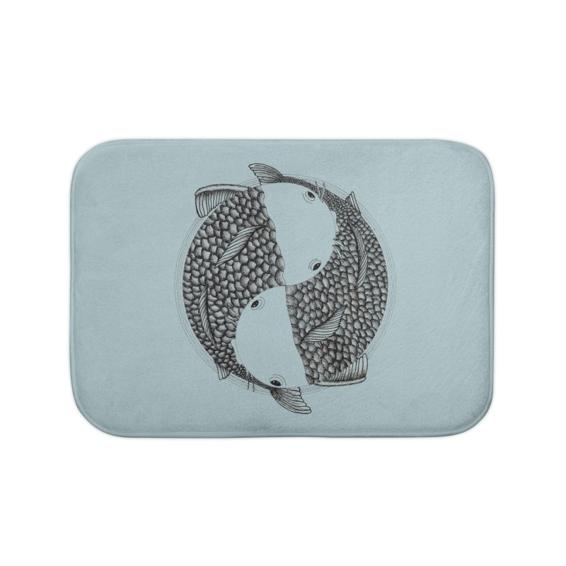 Pisces (Zodiac Sign) Home Bath Mat by Beatrizxe